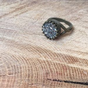 Brass and Geod Ring